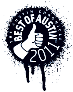 The Austin Chronicles Best of Austin 2011 logo