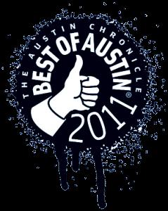 The Austin Chronicles Best of Austin 2011 logo
