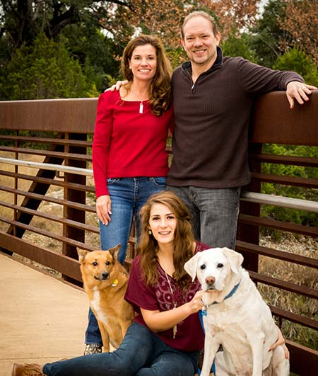 Dr. Cherpack and Family